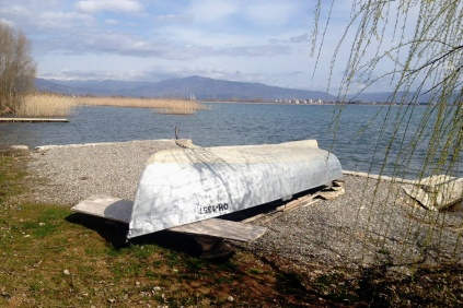 Exploring the wilderness at Lake Ohrid